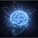 brain glowing